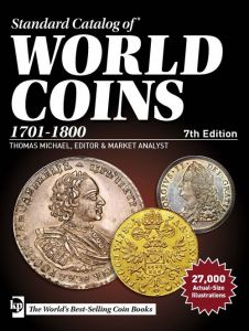Krause Standard Catalog of World Coins 1701-1800 7th ed