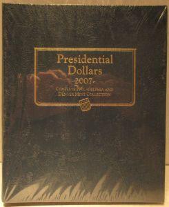 WHITMAN CLASSIC Presidential Dollars 2007-Date Album #2183