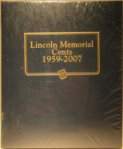 Whitman US Lincoln Cent Coin Album Page 2008-2016 #4444