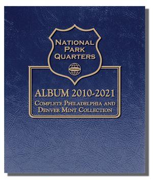 Whitman National Park Quarters Album Complete P/&D Collection Album #3057