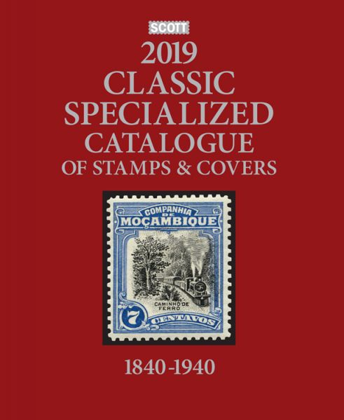 New 2019 Scott Classic Catalogue of Worldwide Stamps and Covers 1840-1940