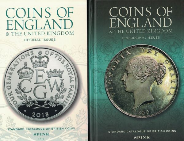 2019 Spink's Coins of England & the United Kingdom, Standard Catalogue of  British Coins 54th ed