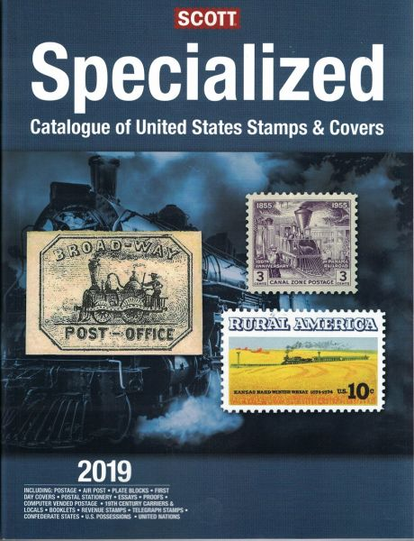 NEW 2019 Scott Specialized Catalog of United States Stamps and Covers